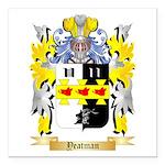 Yeatman Square Car Magnet 3