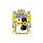 Yeatman Sticker (Rectangle 50 pk)