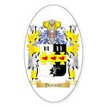 Yeatman Sticker (Oval)