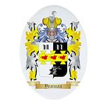 Yeatman Oval Ornament