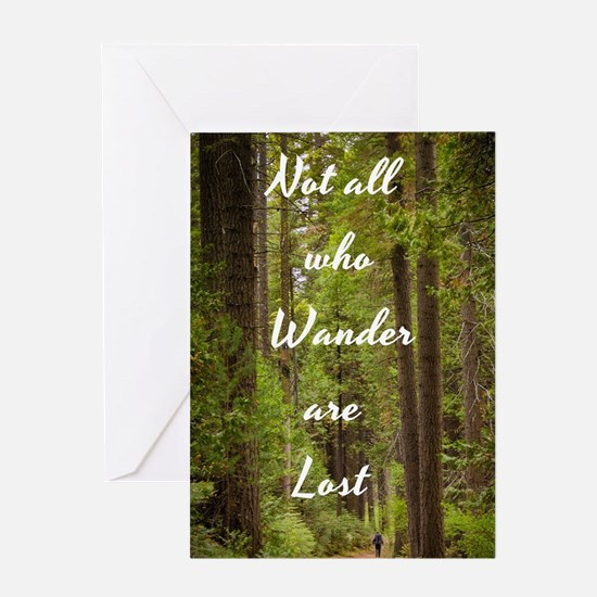 Cute Forests Greeting Card