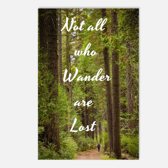 Unique Wander Postcards (Package of 8)