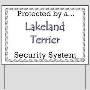 Lakeland Security  Yard Sign