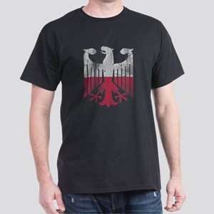 German Polish Heritage Flag Eagle T-Shirt