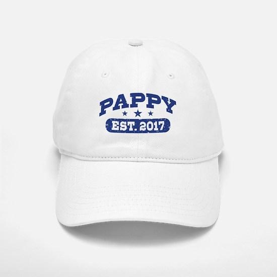 Pappy Est. 2017 Baseball Baseball Cap