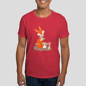Wildlife Red Fox Dark T-Shirt