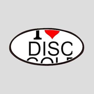 I Love Disc Golf Patch