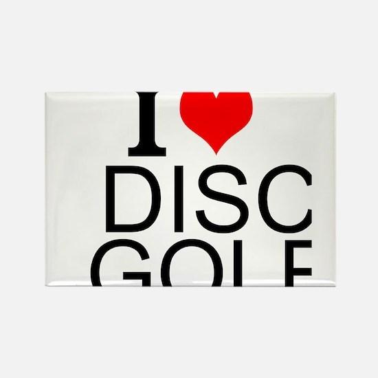 I Love Disc Golf Magnets
