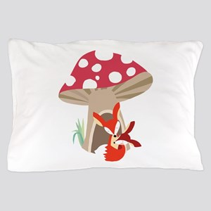 Red Fox and Baby Pillow Case