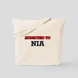 Addicted to Nia Tote Bag