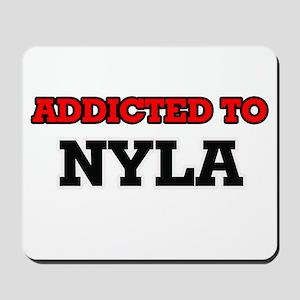 Addicted to Nyla Mousepad