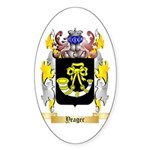 Yeager Sticker (Oval 50 pk)