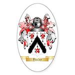 Yaxley Sticker (Oval 50 pk)