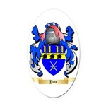 Yate Oval Car Magnet