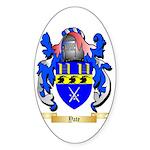 Yate Sticker (Oval 50 pk)