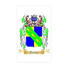 Yardley Sticker (Rectangle 50 pk)