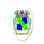 Yardley 35x21 Oval Wall Decal