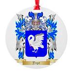 Yape Round Ornament
