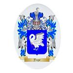 Yape Oval Ornament
