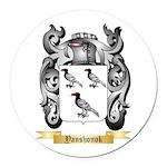 Yanshonok Round Car Magnet