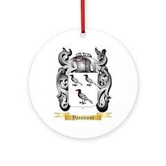 Yanshinov Round Ornament