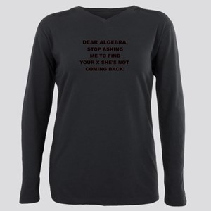 DEAR ALGEBRA Plus Size Long Sleeve Tee