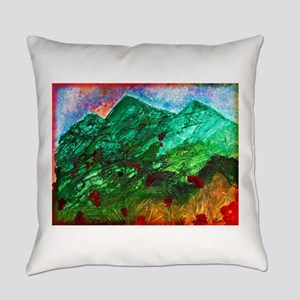 Green Mountains Everyday Pillow