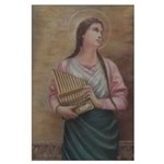 St. Cecilia Large Poster
