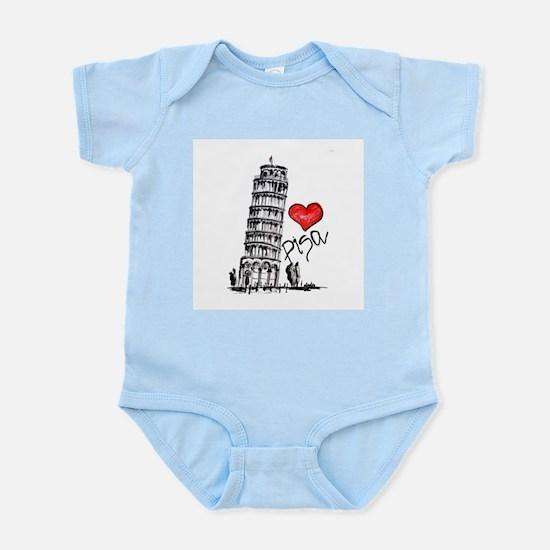 I love Pisa Body Suit