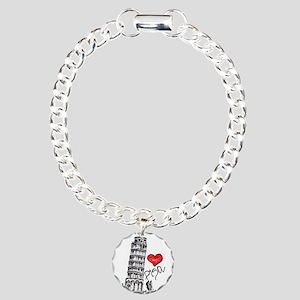 I love Pisa Charm Bracelet, One Charm