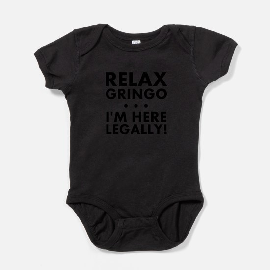 Cute Mexican Baby Bodysuit