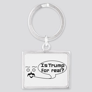 Is Trump For real? Keychains