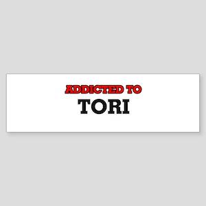 Addicted to Tori Bumper Sticker