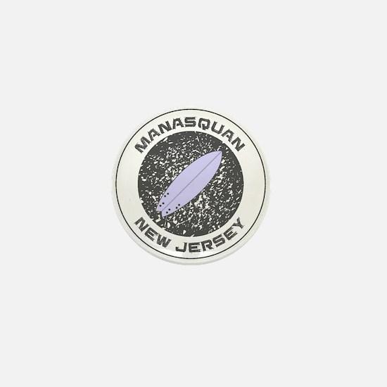 New Jersey - Manasquan Mini Button