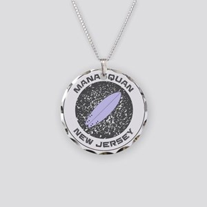 New Jersey - Manasquan Necklace Circle Charm