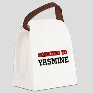Addicted to Yasmine Canvas Lunch Bag