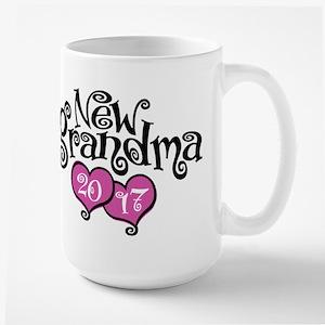 New Grandma 2017 Large Mug