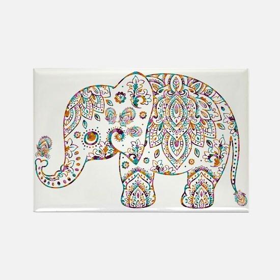 Funny Elephant Rectangle Magnet