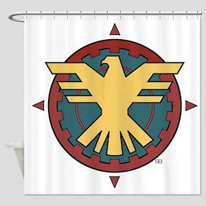 The Thunderbird Shower Curtain