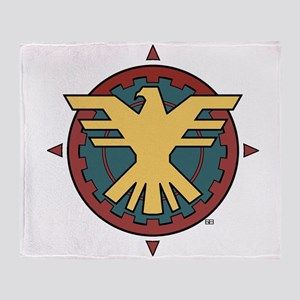 The Thunderbird Throw Blanket