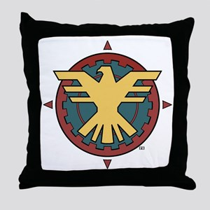 The Thunderbird Throw Pillow