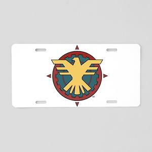 The Thunderbird Aluminum License Plate