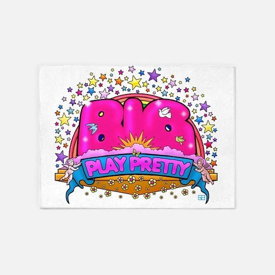 Big Play Pretty! 5'x7'Area Rug