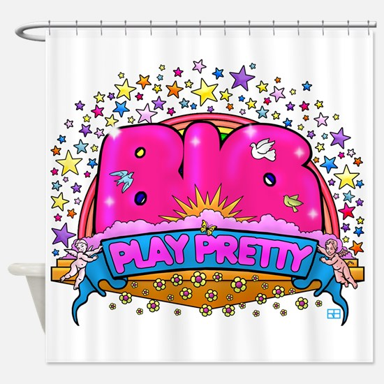 Big Play Pretty! Shower Curtain