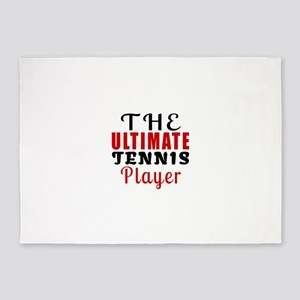 The Ultimate Tennis Player 5'x7'Area Rug