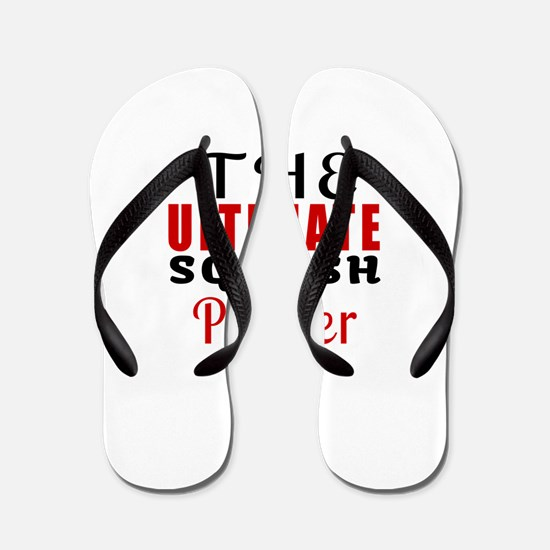 The Ultimate Squash Player Flip Flops