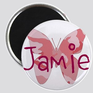 Camo Butterfly : Name Personalize, Magnets