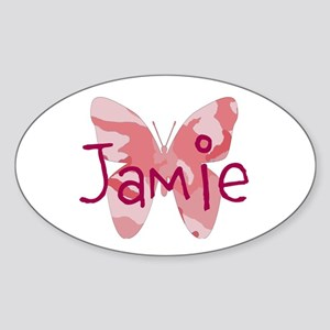 Camo Butterfly : Name Personalize, Sticker