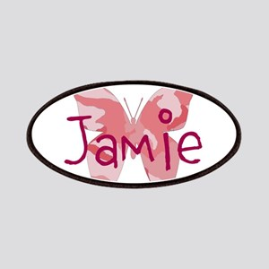 camo butterfly : name personalize, initials Patch
