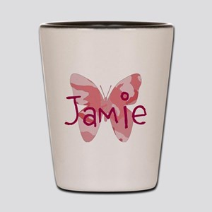 camo butterfly : name personalize, initials Shot G